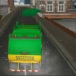 Amsterdam Truck Garbage