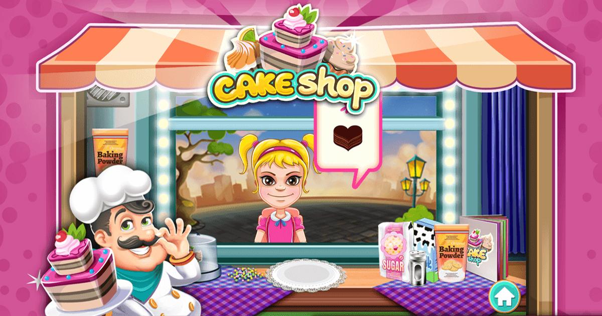 Image Cake Shop Game