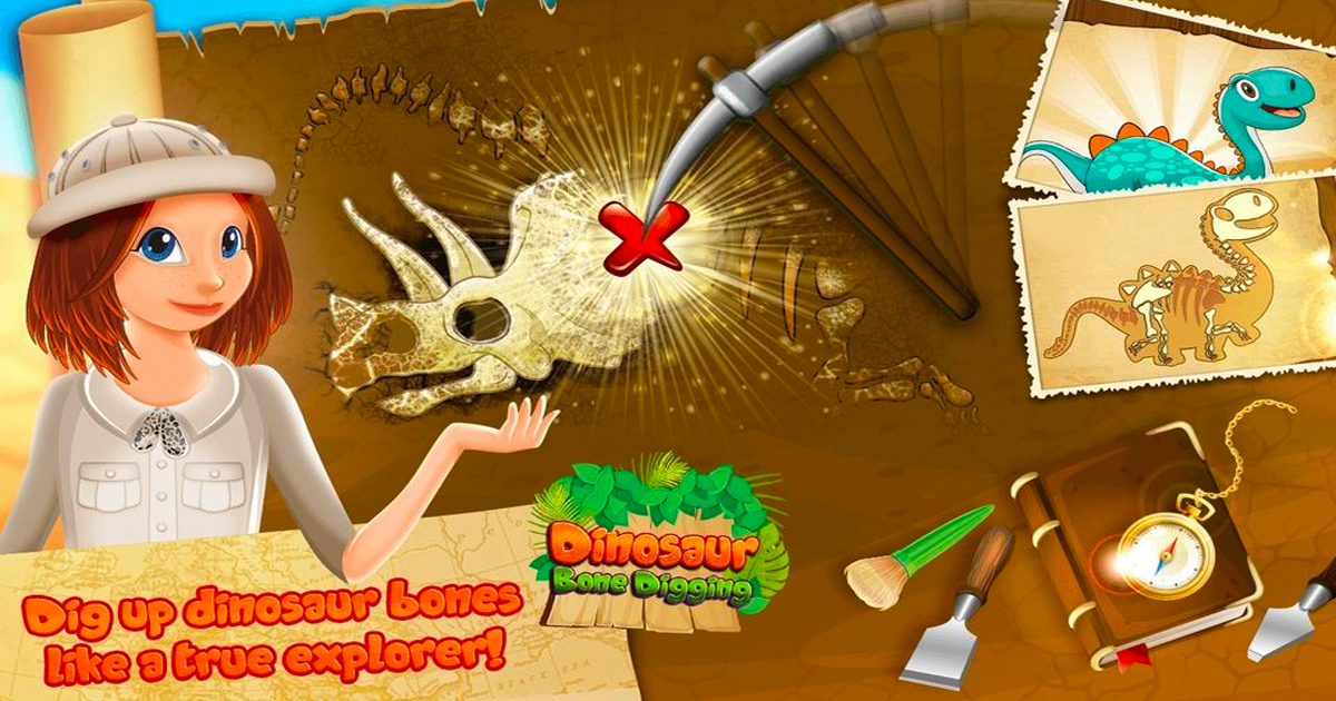 Image Dinasaur Bone Digging