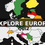 Location of European countries | Quiz