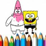 Sponge Bob Coloring Book
