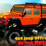 4×4 Jeep Offroad Drive Jigsaw
