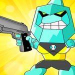 Alien Transform Battle Diamondhead Game