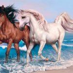 Animals Jigsaw Puzzle – Horses