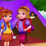 Arietta's crazy team camping