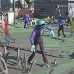 City Apocalypse 3D Of Zombie Crowd