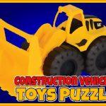 Construction Vehicles Toys Puzzle