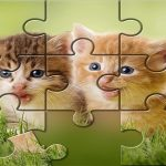 Cute Cats Puzzle game ftree