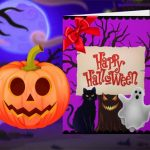 Happy Halloween – Princess Card Designer