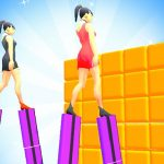 Heels Run Race – Stack Rider