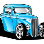 Hot Rod Coloring