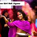 Indian Girl Holi Jigsaw