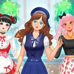 Kawaii High School Teacher Dress Up