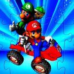 Mario and Yoshi Jigsaw