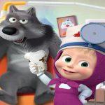 Masha and the Bear- Free Dentist Hospital Surgery