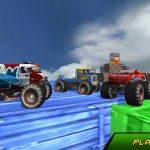 Monster Truck Stunts Sky Driving