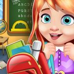 My School Doll House Games