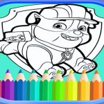 PAW Patrol Coloring Book for Puppy patrol for kids