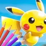 Pokémon Coloring Book Game