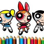 Powerpuff Girls Coloring
