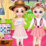 Princess Family Flower Picnic