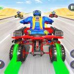 Quad Bike Traffic Shooting Games 2020: Bike Games
