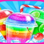 Rainbow Frozen Slushy Truck: Ice Candy Slush Maker