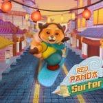 Red Panda Surfer