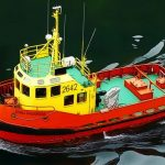 Riverboat Sailing
