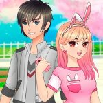Romantic Anime Couples Dress Up