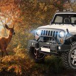 Safari Jeep Car Parking Sim: Jungle Adventure