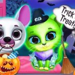 Scary Makeover Halloween Pet Salon
