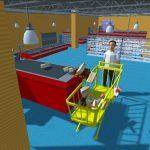 Super Market Atm Machine Simulator: Shopping Mall