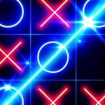 Tic Tac Toe glow – Free Puzzle Game