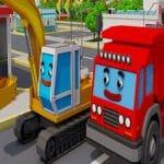 Trucks and Digger Jigsaw