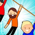 Zipline Rescue – Physics Puzzle