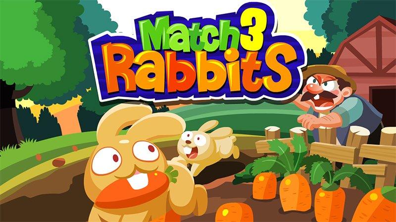 Image Match 3 Rabbits