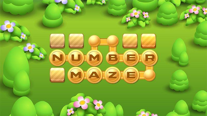 Image Number Maze