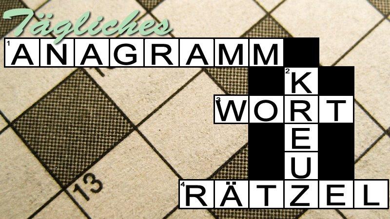 Image Tägliches Anagramm Kreuzworträtsel